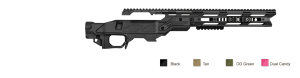 Picture of a Drake Cadex Field Tactical Core Bolt Action Sniper Rifle Chassis System