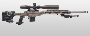 Picture of a JP MR-10 Bolt Action Rifle, Featuring the JP Advanced Modular Chassis System