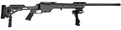 Picture of a Masterpiece Arms MPA BA Chassis Gunmetal