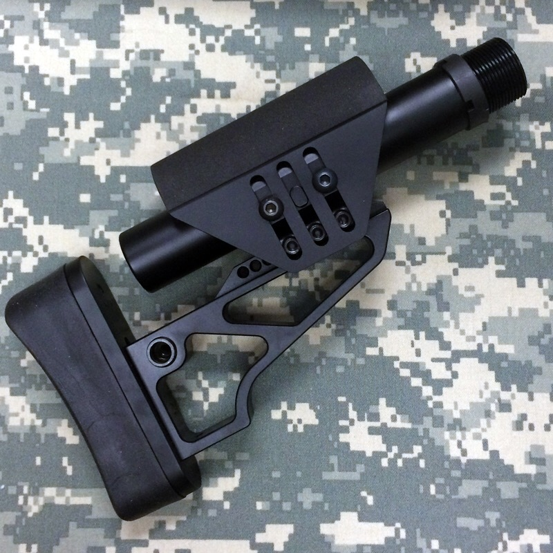 XLR Industries Tactical Lite Butt Stock for Sniper Rifles