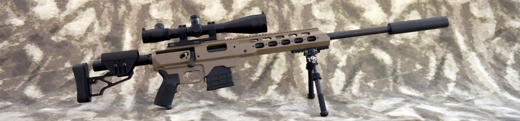 MDT TAC21 20 inch Suppressed Modular Rifle www.modularrifle.com
