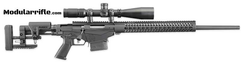 Picture of a 308 Wincester Ruger Precision Rifle