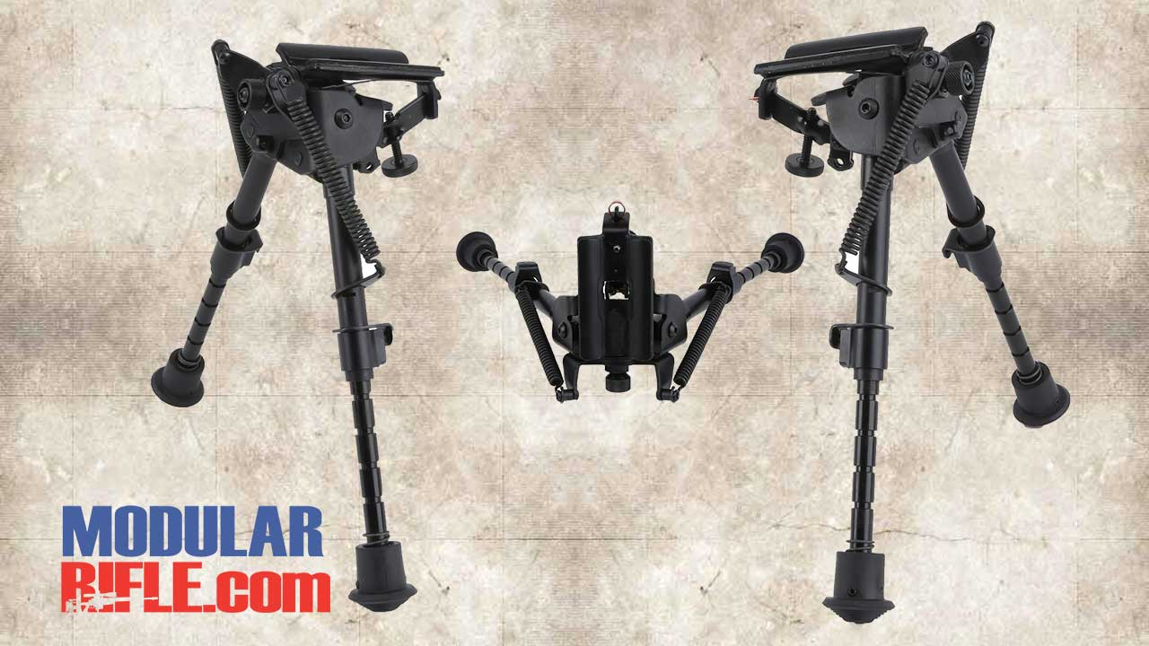 Picture of a Harris Bipod HBRMS 6″-9″