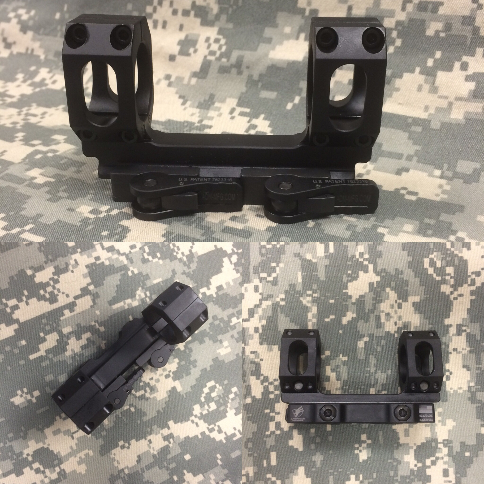 American Defense AD-RECON-S Scope Mount - www.modularrifle.com