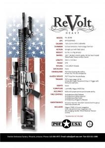 POF ReVolt Heavy Spec Sheet www.modularrifle.com