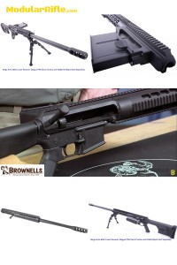 """Zel Custom 50 BMG T2 AR15 Upper Receiver """"Tactilite"""""""