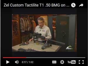 Zel Custom 50 BMG T2 AR15 Upper Receiver Video 2