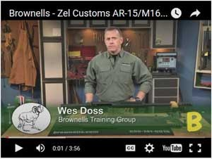 Zel Custom 50 BMG T2 AR15 Upper Receiver Video
