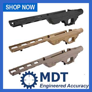 MDT Remington 700 Sniper Rifle Chassis