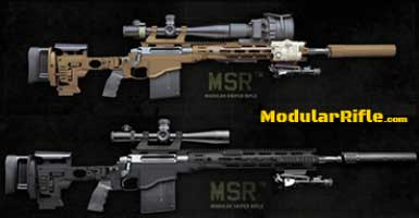 REMINGTON MSR MODULAR SNIPER RIFLE SYSTEM