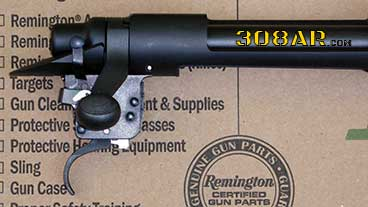 Remington M2010 Barreled Action Unboxing