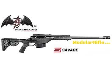 Savage Arms and Drake Stealth Rifle BA10   BA110