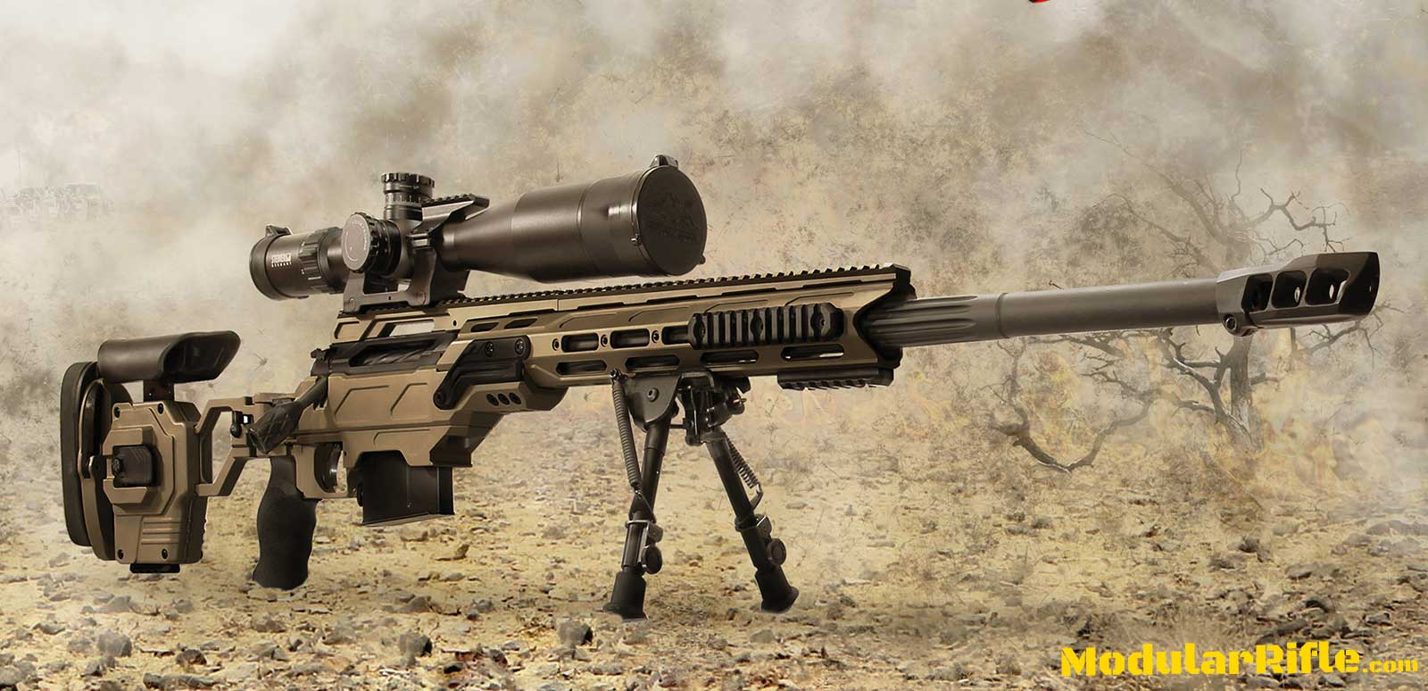 Picture of a Cadex Sniper Rifle