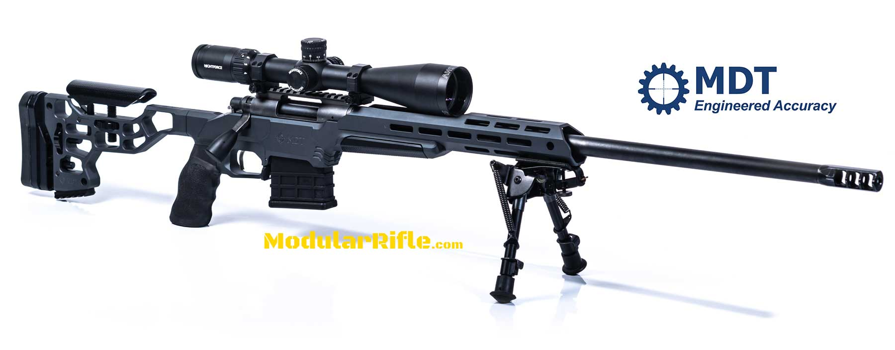 MDT ESS Chassis Installed on a Rifle