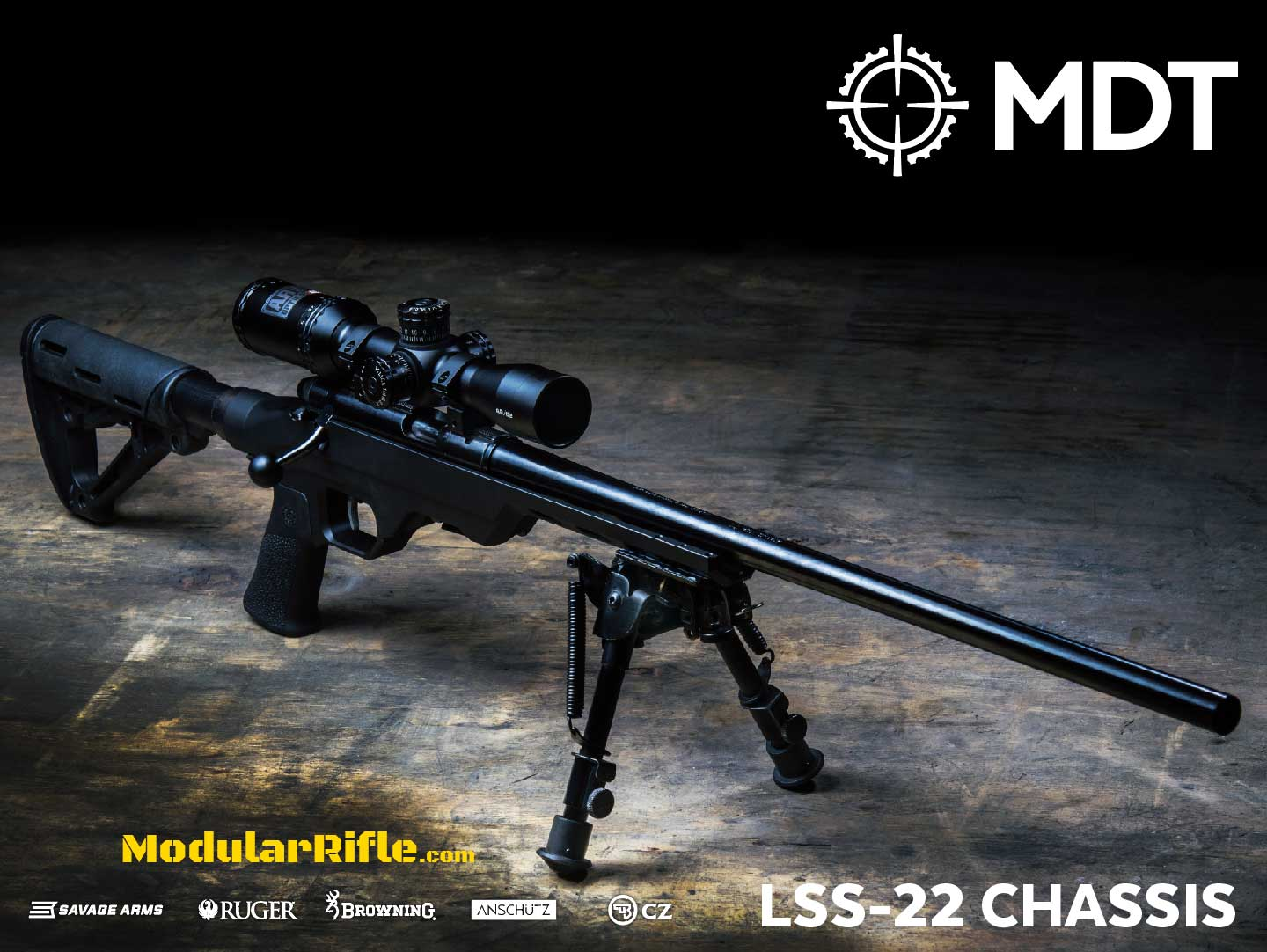 MDT LSS 22 Rifle Chassis System