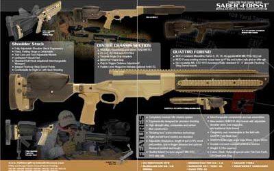 Ashbury Precision Ordnance Saber Forsst Rifle Chassis