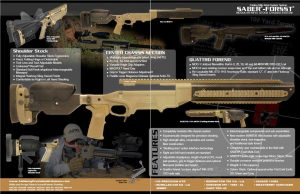 Ashbury Precision Ordnance Saber Forsst Rifle Chassis Infographic