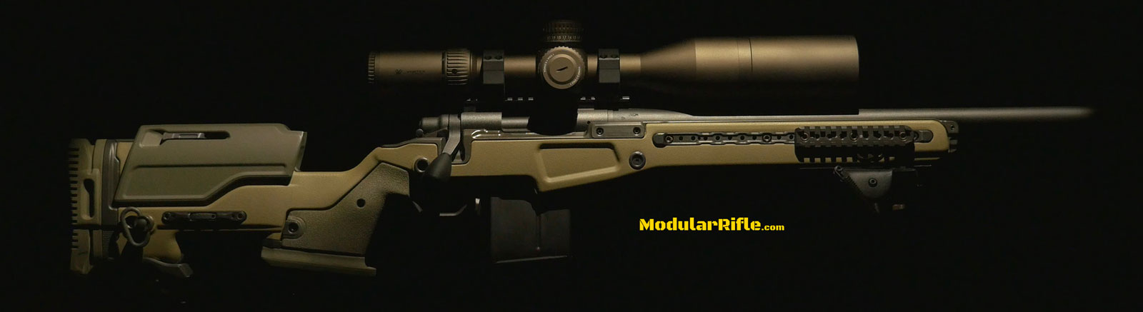 Picture of a completed 6.5 Creedmoor Long Range Sniper Rifle