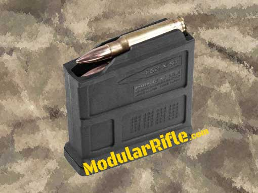 Picture of a 5 Round Magpul AICS Magazine