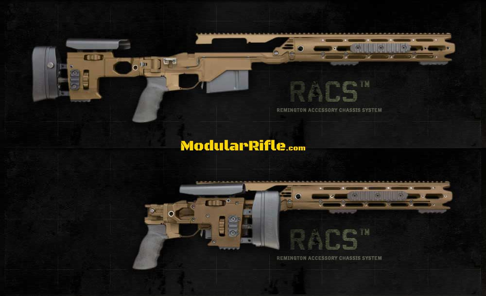 Picture of a Remington Defense RACS M40A6 USMC Chassis 86485