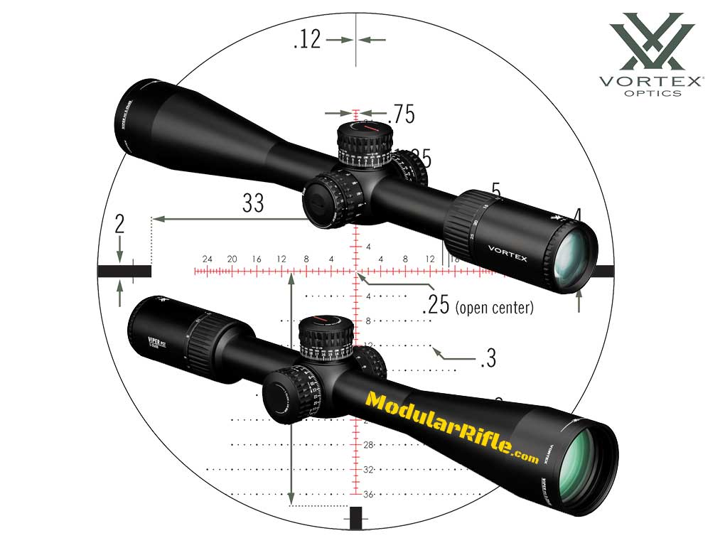 Vortex Viper PST Gen II 5-25x50 FFP EBR-2C Rifle Scope Review