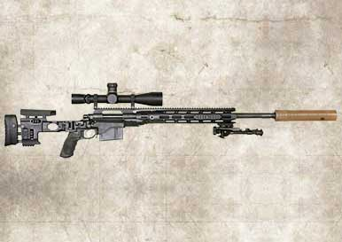 Picture of a Remington XM2010 Sniper Rifle