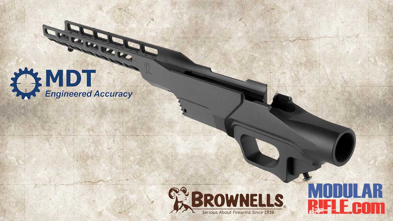 BROWNELLS MDT BRN-1 M-LOK CHASSIS - MDT LSS CHASSIS