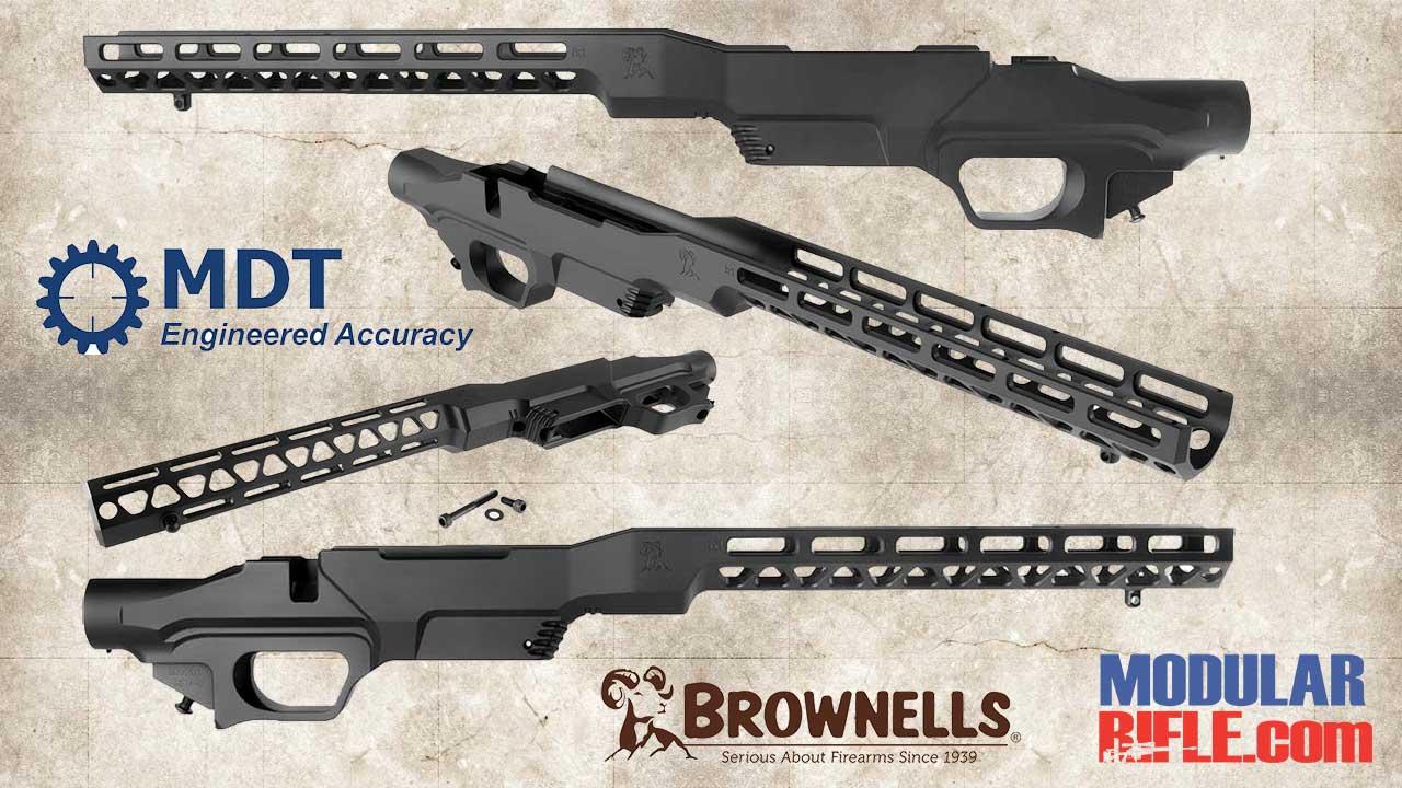 BROWNELLS MDT BRN-1 M-LOK CHASSIS | LSS | Modularrifle com