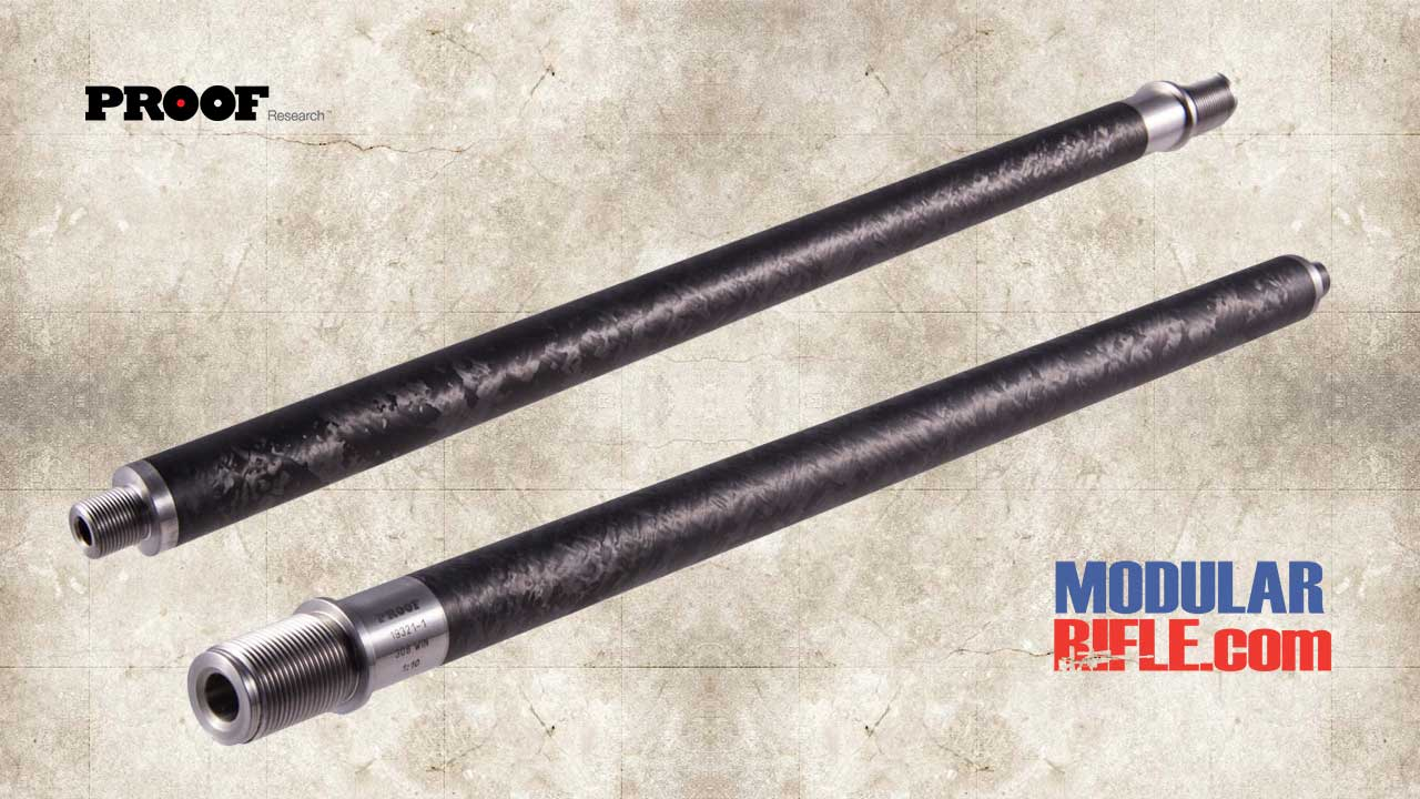Picture of a Proof Research Ruger Precision Rifle Carbon Fiber Barrel