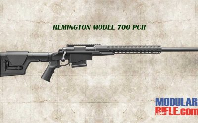 REMINGTON MODEL 700 PCR PRECISION CHASSIS RIFLE