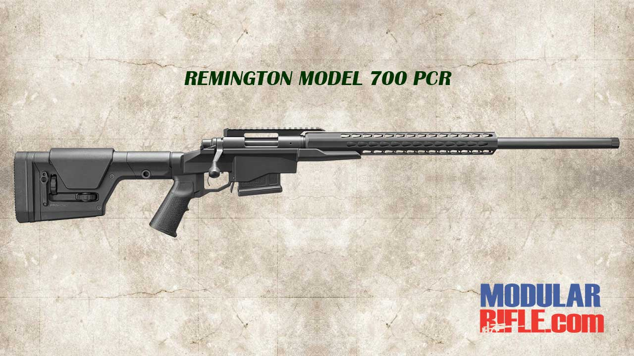 REMINGTON MODEL 700 PCR PRECISION CHASSIS RIFLE HERO IMAGE