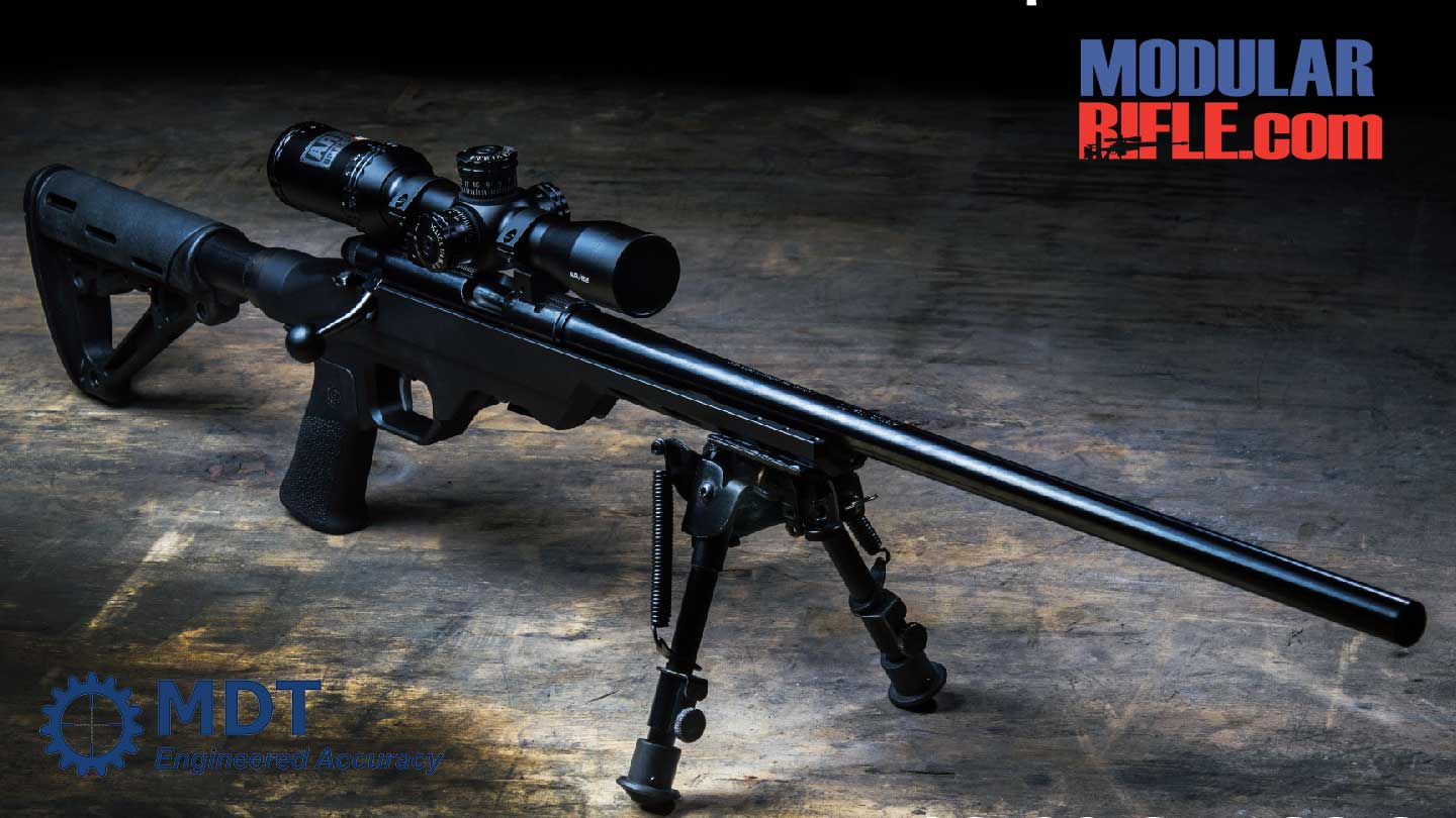 MDT LSS-22 Chassis for Rimfire Bolt Action Rifles