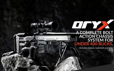 ORYX Rifle Chassis System By MDT