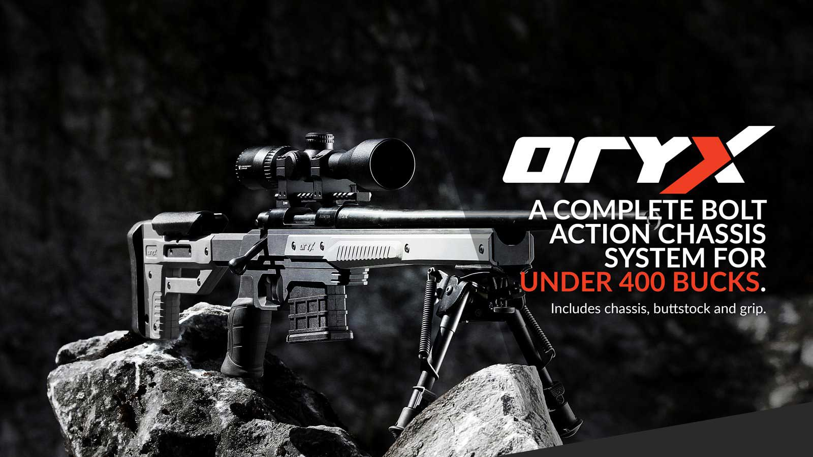 Picture of a ORYX Rifle Chassis System By MDT